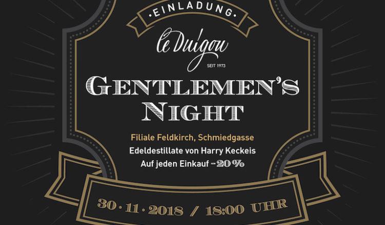 In a Gentleman's World