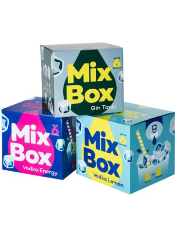 3 Mix Boxen gemischt